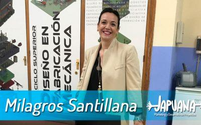 Entrevista Japuana: Milagros Santillana Jordán